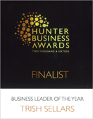 award hunter business leader 2016