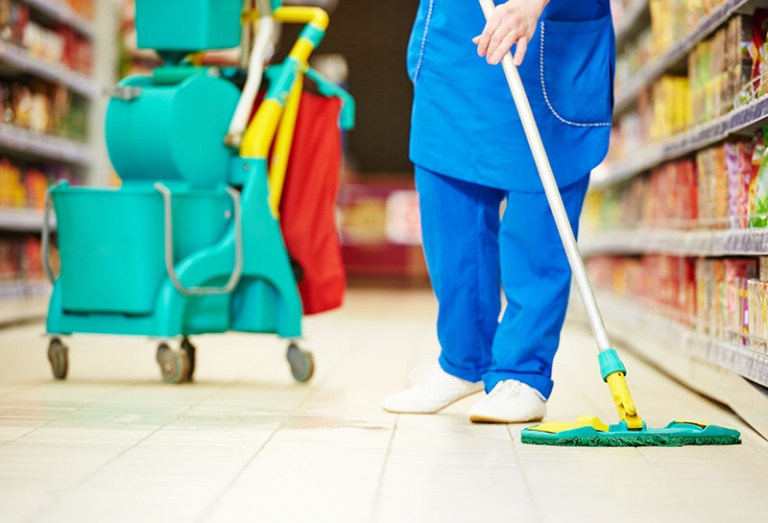 Professional cleaning services for your retail premises