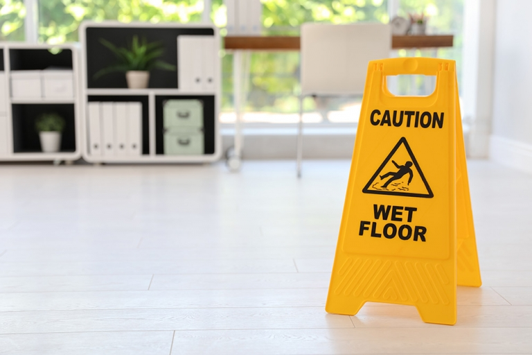 A clean workplace is a safe workplace